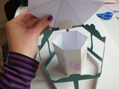 How to make a pop up card. Carousel Pop Up Card - Step 11