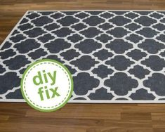 DIY: Comment peindre un tapis de sisal