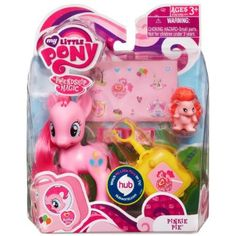 Amazon.com: My Little Pony Figure Pinkie Pie with Suitcase: Toys & Games