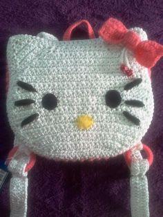 BOLSO NIÑA mochila Hello kitty