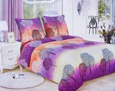 7 részes flanel ágyneműhuzat, lila erdős Comforters, Blanket, Bed, Furniture, Home Decor, Products, Forts, Xmas, Creature Comforts
