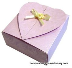 Use our free gift box templates to make your own gift box. You'll be making gift boxes in no time. All you need are scissors, glue, and the free box templates on this site.