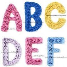 Patrón Abecedario crochet