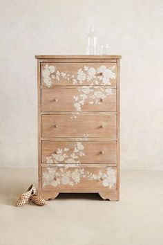 Pearl Inlay Narrow Dresser - anthropologie.com