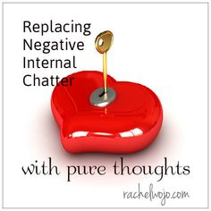 In this post, we take on the next item on Paul's to-think list: replacing negative internal chatter with pure thoughts.