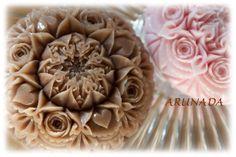 カカオソープ、カービングしました * Soap Carving http://ameblo.jp/arunada/entry-11978668937.html