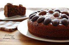 TORTA CON OVETTI AL CIOCCOLATO ricetta facile e veloce da preparare con il Bimby ma anche senza. Molto golosa e cioccolatosa vi leccherete anche i baffi!