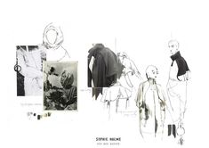 LOVE AFFAIR Fashion Portfolio Layout, Fashion Design Sketchbook, Fashion Sketches, Illustration Mode, Collage Illustration, Illustrations, Book Design Inspiration, Sketchbook Inspiration, Creative Communications