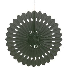 Black Hanging Decorative Honeycomb Fan; Sold Single Diameter: 16 Inches when opened (40cm) Material: Honeycomb Paper Colour: Black