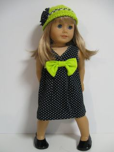 American Girl Doll Clothes Spring Floral by 123MULBERRYSTREET, $26.00