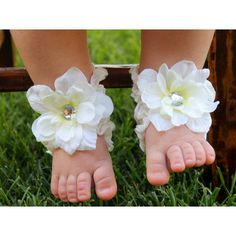 Toe Blooms Infant Girl Little Lady