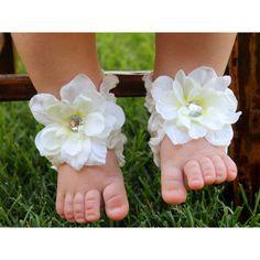 Toe Blooms Infant Girl Little Lady