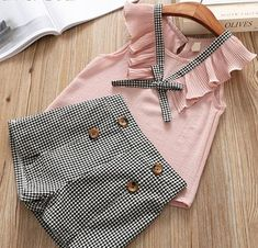 Humor Bear Baby Girl Clothes 2019 Summer New Girls Clothing Sets Kids Clothes Baby Bay Clothes Toddler Girl Coat + Pants Baby Outfits, Girls Summer Outfits, Summer Girls, Kids Girls, Summer Set, Baby Girls, Infant Girls, Toddler Girls, New Girl
