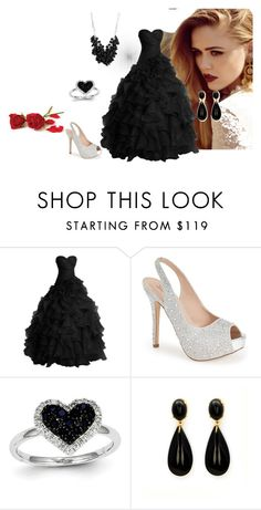 """""""Untitled #70"""" by habibakenawy on Polyvore featuring Lauren Lorraine, Kevin Jewelers, Betty Jackson, women's clothing, women's fashion, women, female, woman, misses and juniors"""