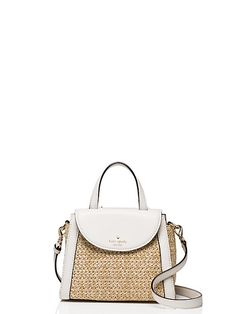 cobble hill straw small adrien - Kate Spade New York