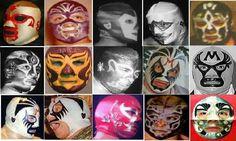 Blue Demon, Halloween Face Makeup, Mexican, Wrestling, Hero, Portrait, Room, World, Female Fighter