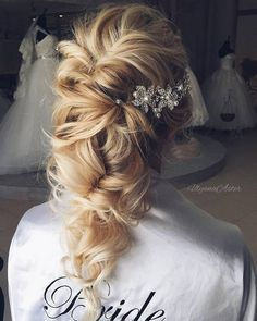 Ulyana Aster Long Bridal Hairstyles for Wedding_14  ❤ See More: http://www.deerpearlflowers.com/long-wedding-hairstyleswe-absolutely-adore/