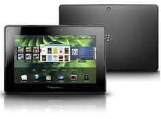 """$139.99 + FREE shipping! BlackBerry 64GB PlayBook 7"""" Multi-Touch Tablet w/ Dual Cameras, 1GHz Processor, Bluetooth 2.1 & WiFi! Condition: New - Open Box Packaging: Retail - Open Box Warranty: 90 Day Manufacturer: BlackBerry Model: PRD-38548-003"""