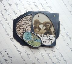 """Clare Hillerby - Brooch_walthamstow - at """"Forming Words"""" Flow gallery"""