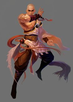 Male Monk from Conquer Online