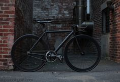 there is a special place in my heart for matte black paint jobs on bikes - you cannot help feeling fast.
