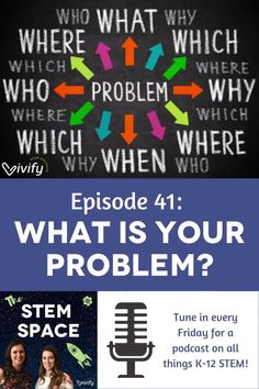 In this episode of The STEM Space, Claire and Natasha discuss how to solve other problems you or your students may encounter. From Monkey the dog crossing a river without getting wet to a Masters Degree Program Professor inviting Natasha and the rest of class to participate in an oddly specific experiment, tune in to discover how you might benefit from asking the right questions. Stem Learning, Hands On Learning, Learning Resources, Fun Math Activities, Math Games For Kids, Master Degree Programs, Engineering Design Process, Secondary Math, 8th Grade Math