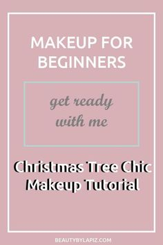 This is a super easy holiday makeup tutorial for beginners where I teach you how. - Make Up 2019 Makeup Guide, Diy Makeup, Makeup Ideas, Makeup Hacks, Makeup Tutorials, Learn Makeup, Makeup Inspo, Diy Beauty Secrets, Beauty Tips