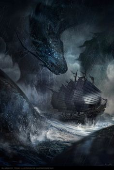 Ships in the outer swells would do well to be wary of monsters