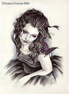 Persephone mariposa by Victoria Francés