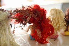 how to detangle barbie doll hair