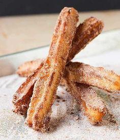 Homemade Churros | Festive Edible Gifts To Make And Give This Season | https://homemaderecipes.com/edible-gifts-make-give/