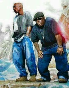 Pac and biggie