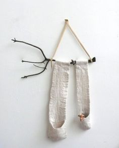 felted wall hangings by adrienne antonson of STATE