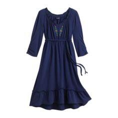Chaps Beaded Dress - Girls 7-16