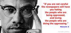 Malcolm X on Listening to the Media | Nomadic Politics