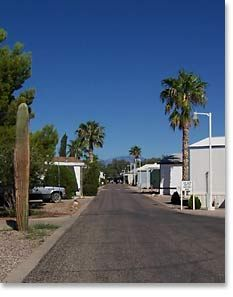 Valley Of The Sun Mobile Home RV Park Just North Tucson And South
