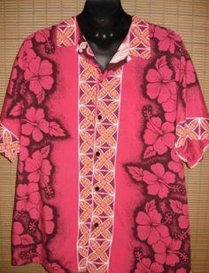 Pink Hawian shirt