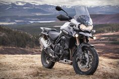 Using the rugged 2014 Triumph Tiger 800 as a starting point, we added a pack of special off-road equipment so you can keep on going when you run out of tarmac.The three-cylinder engine is the same 800cc triple found in the Tiger 800 so it's got loa