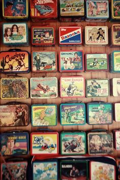 A Great Collection of Vintage Lunch Boxes