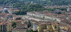 Piazza Vittorio e la collina viste dalla Mole Antonelliana - Photo courtesy Wikipedia