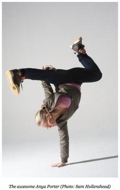 yoga + break dancing