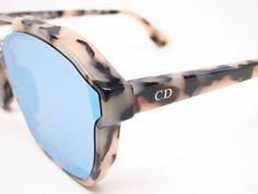 44f9b110c6498 Dior Abstract A4EA4 Beige Black Havana Sunglasses