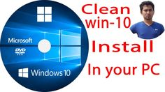 clean install windows 10how to install windows 10windows 10 tutorial2017 https://youtu.be/Il2j0UDmOag