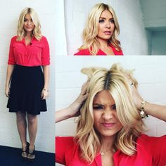 """6,070 Likes, 71 Comments - Holly Willoughby (@hollywilloughby) on Instagram: """"Defiantly feeling Monday-ish on what is apparently blue Monday... Therefor today on @itvthismorning…"""""""