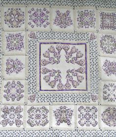 Jenny Haskins purple homemade quilt Free by createdbymammy on Etsy, $3000.00