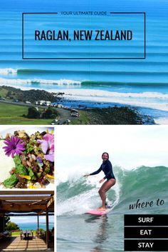 Surfing Raglan :: New Zealand