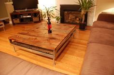 Kijiji: Barn Board Reclaimed Funky Vintage Harvest Coffee Table dining