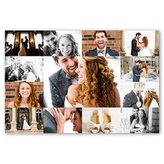 Photo Gallery Grid, White