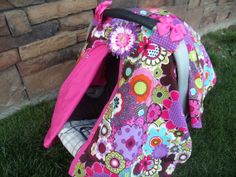 Carseat Canopy Cover by fashionfairytales on Etsy, $35.99