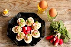 Sushi, Eggs, Breakfast, Ethnic Recipes, Food, Morning Coffee, Egg, Meals, Yemek